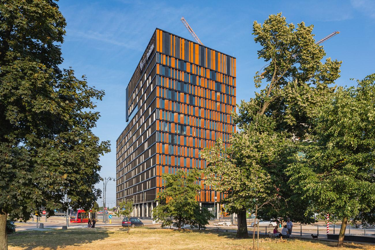Brama Miasta biurowiec Łódź (2)