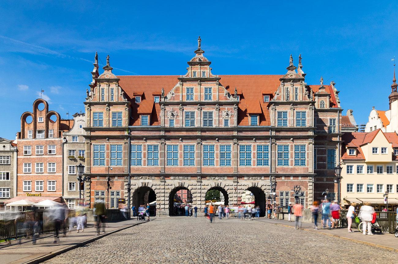 Brama-Zielona-Gdańsk