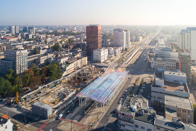 Dron Łódź zdjęcia z powietrza