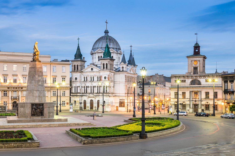 Plac Wolności Łódź